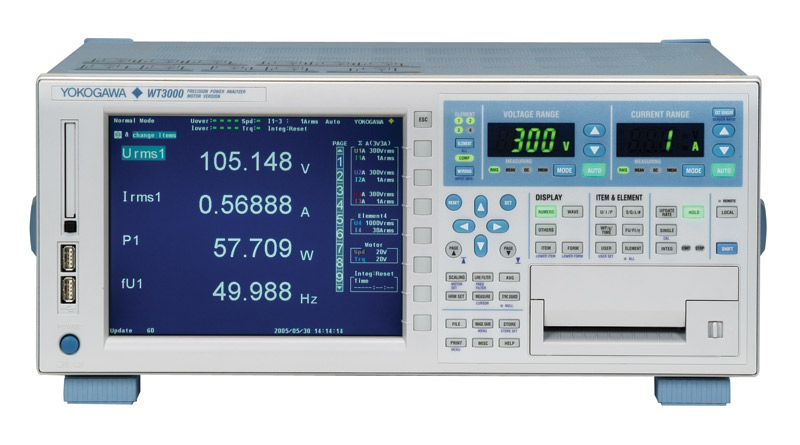 WT3000E Precision Power Analyzer